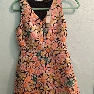 Embroidered Banana Republic Dress